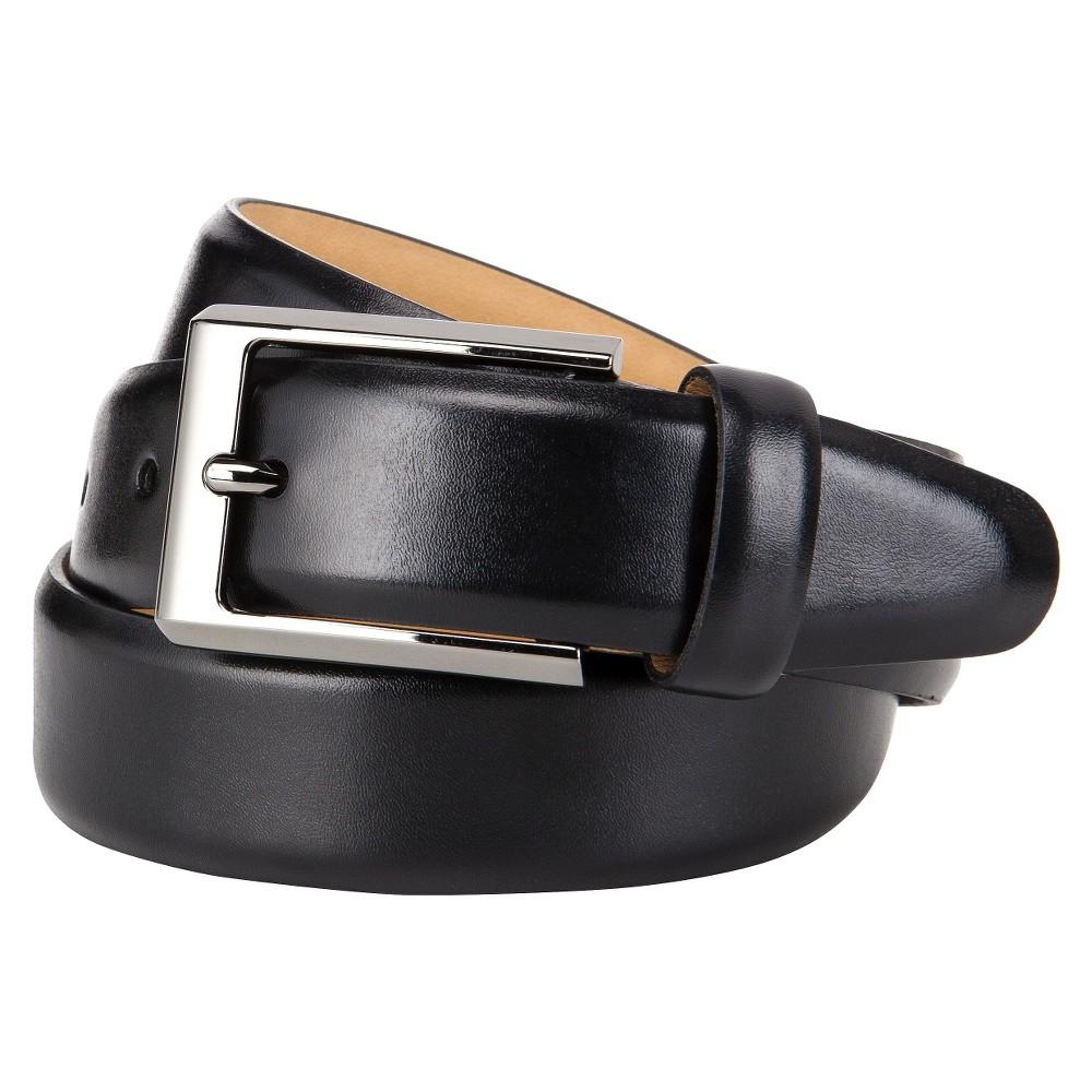 Mens Matte Split Belt - Goodfellow & Co Black, Size: M(32-36)
