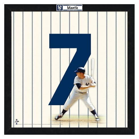 New York Yankees Mickey Mantle Framed Uniframe - image 1 of 3