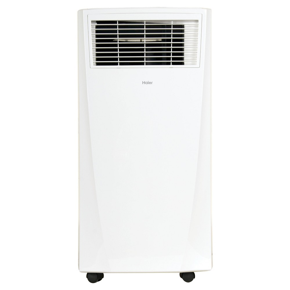 Haier - 10000-Btu Portable Air Conditioner, HPB10XCR, White