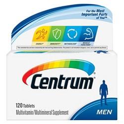 Centrum® Men Multivitamin / Multimineral Dietary Supplement Tablets - 120ct