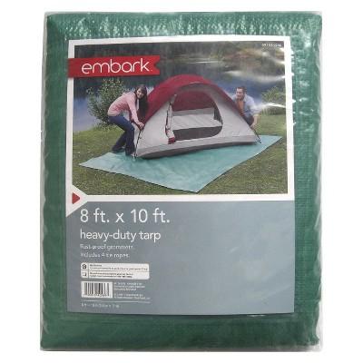 Camping Tarp 8'x10' Green - Embark™