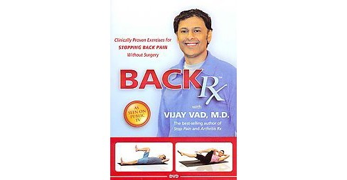 Back RX (Hardcover) (Vijay Vad) - image 1 of 1