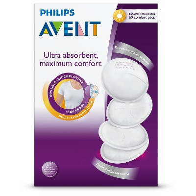 Philips Avent Day Breast Pads - 60 Count