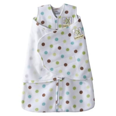 Halo SleepSack Swaddle Fleece Dots - Newborn