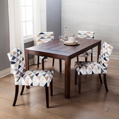 Andres Distressed Dining Table   Espresso