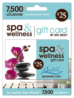 Spa and Wellness Gift Card by Spa Week $25