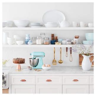 White Kitchen Hutch Target white & gold kitchen collection featuring kitchenaid artisan : target