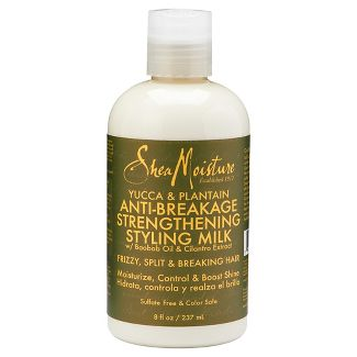 Shea Moisture Yucca Plantain Anti-Breakage Strengthening Styling Milk  8oz