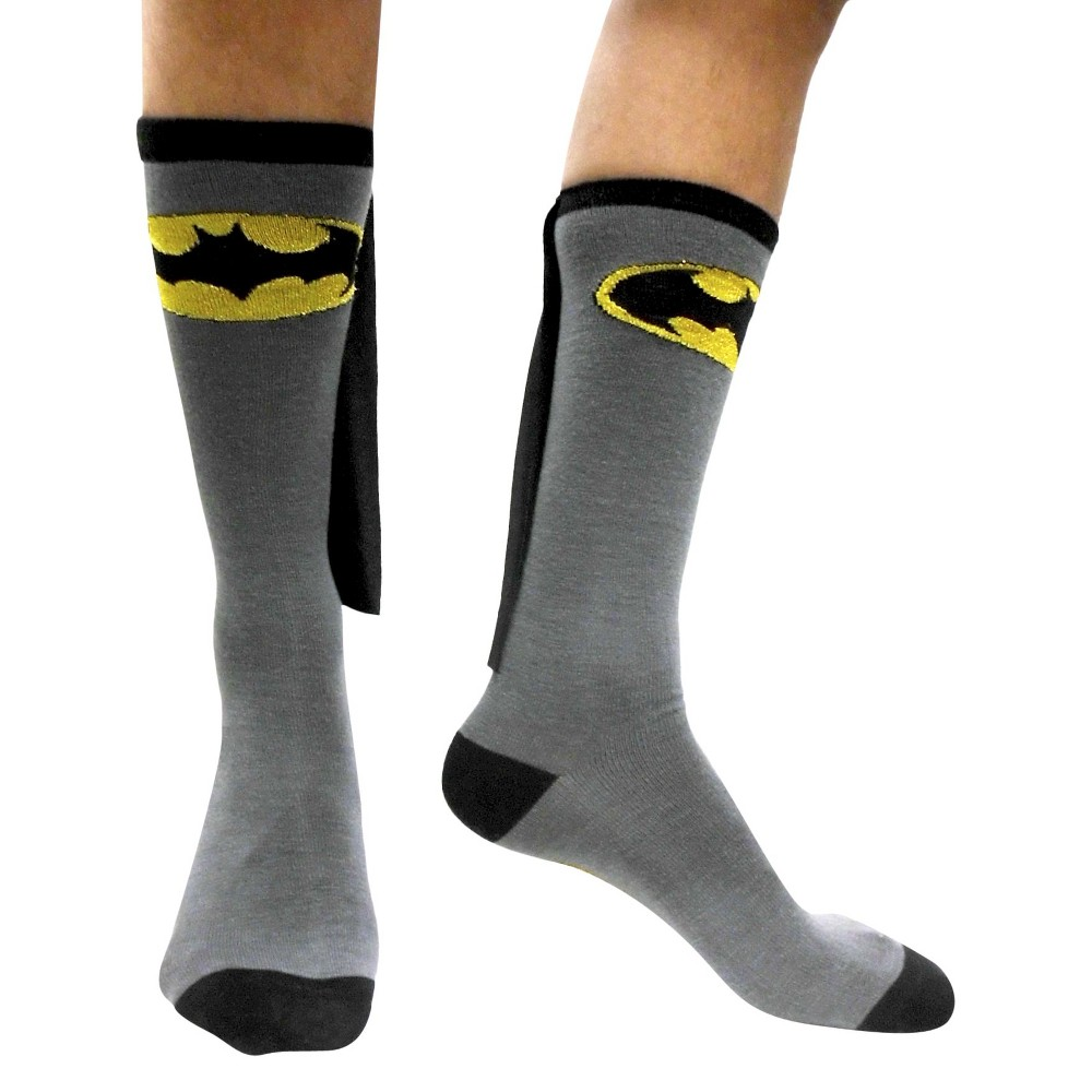 Batman Caped Socks - Black, Mens