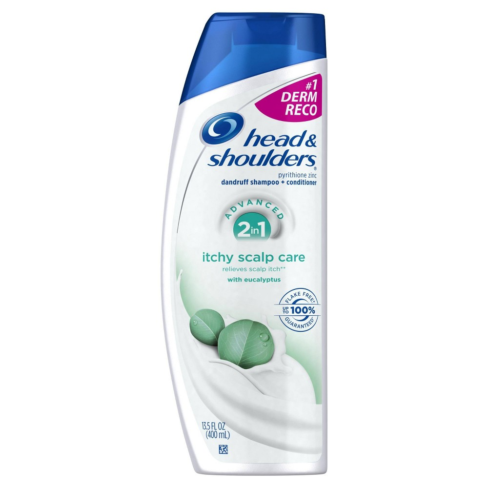Head & Shoulders Itchy Scalp Care 2-in-1 Dandruff Shampoo...