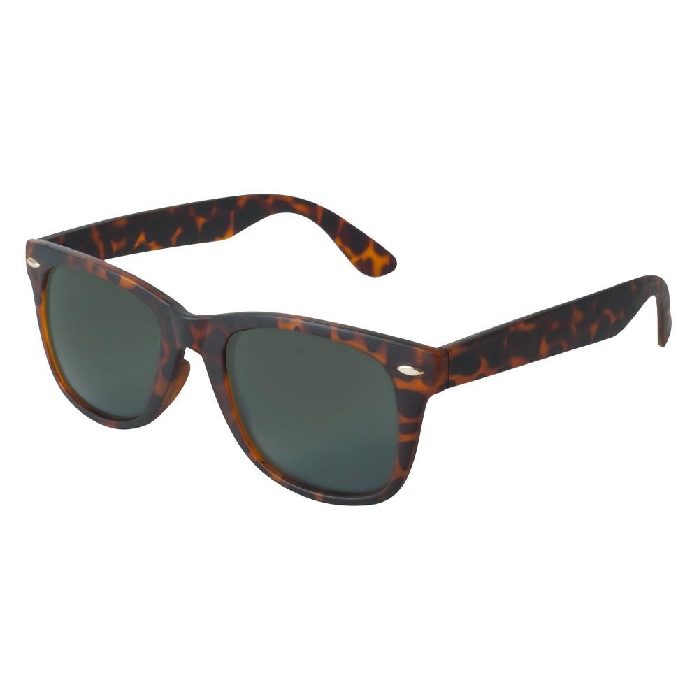 Mens Surf Sunglasses- Tortoise (Green)