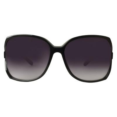 square sunglasses  Women\u0027s Square Sunglasses- Black : Target