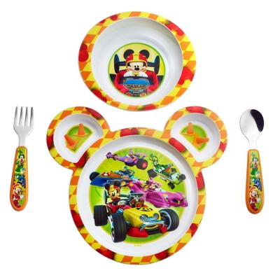 The First Years Disney Baby Mickey Mouse 4 Piece Feeding Set