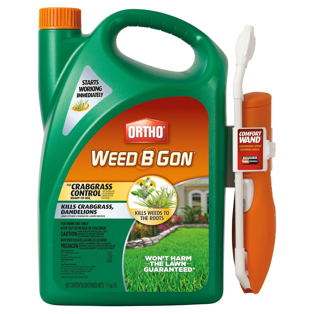 Scotts Ortho Weed B Gon Max Plus Crabgrass Control 1.1 Ga...