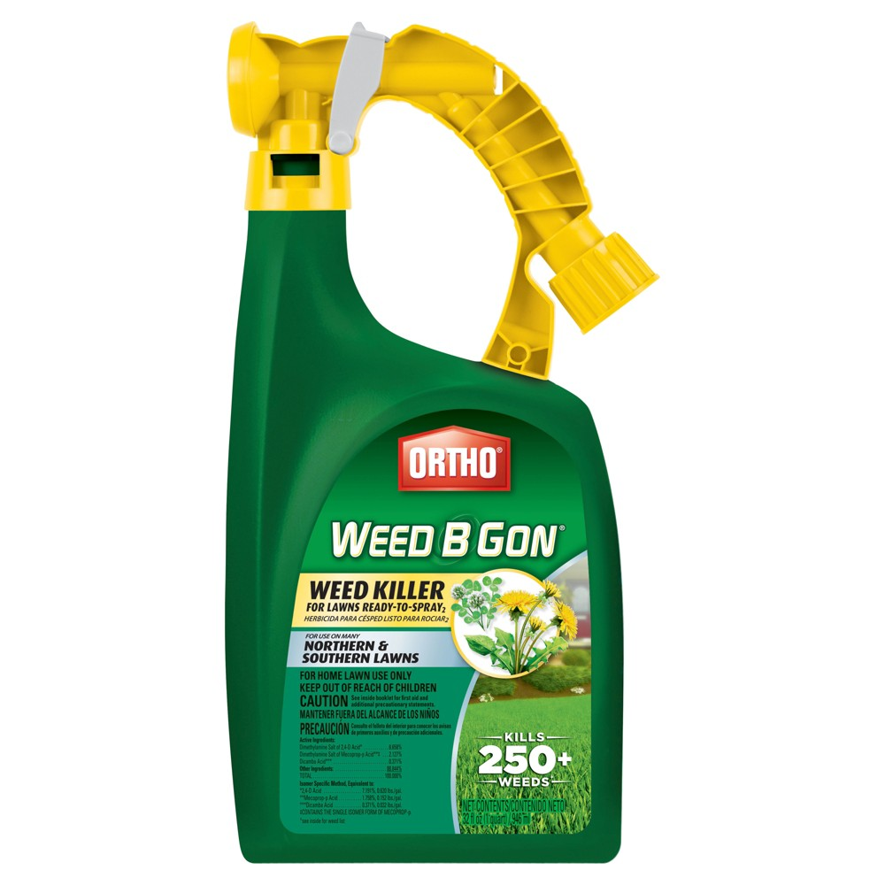 Scotts Ortho Weed B Gon Weed Killer for Lawns 32oz Ready to Spray