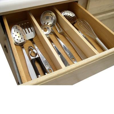 Natural Kitchen Drawer Dividers : Target
