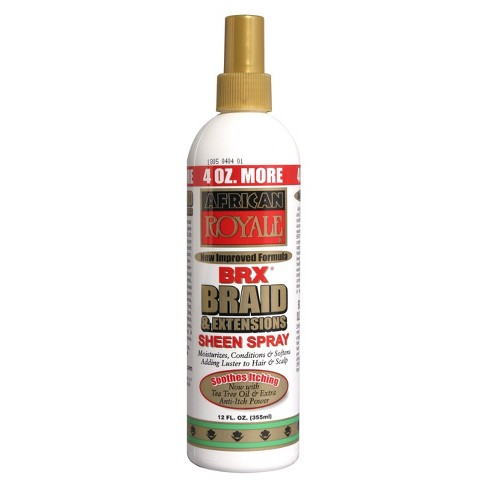 African Royale Braid and Extensions Sheen Spray - 8oz - image 1 of 1