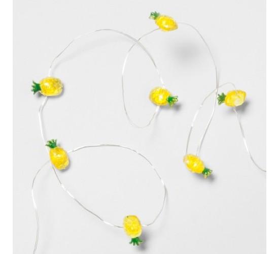 Pineapple String Lights 25ct - Room Essentials™