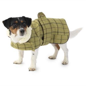 Tweed Jacket Dog Costume - Green