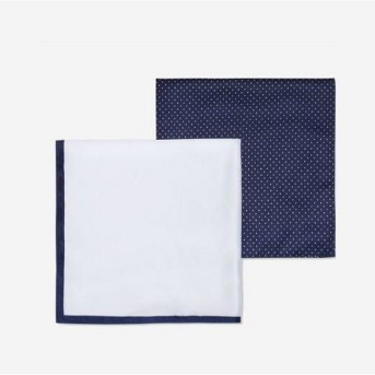 Men's Polka Dot Two Pocket Square Set - Goodfellow & Co™ Multi One Size