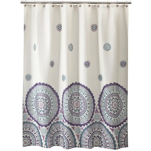circles shower curtain : target