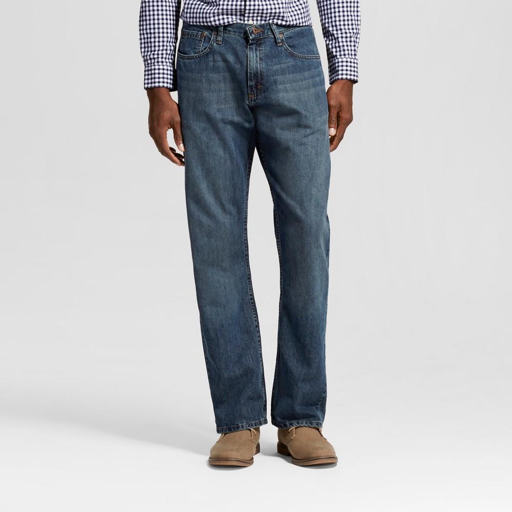 Wrangler Mens Bootcut Fit Jeans - Gray Blast 33x32