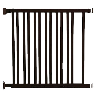 Dreambaby® Nelson Expandable Wood Gate - Espresso