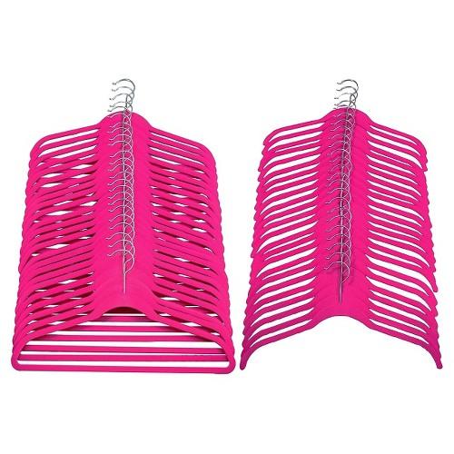 Joy Mangano Huggable Hangers 48-Pc. Combo Pack - Pink