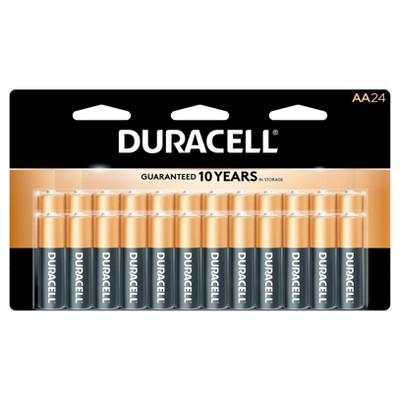 Duracell CopperTop AA Alkaline Batteries - 24 ct