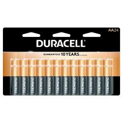 Duracell CopperTop AA Alkaline Batteries - 24 ct