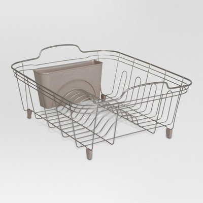 Dish Drain Rack - Satin Pewter - Threshold™