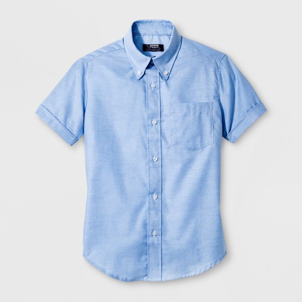 French Toast Boys Oxford Shirt - Light Blue 14