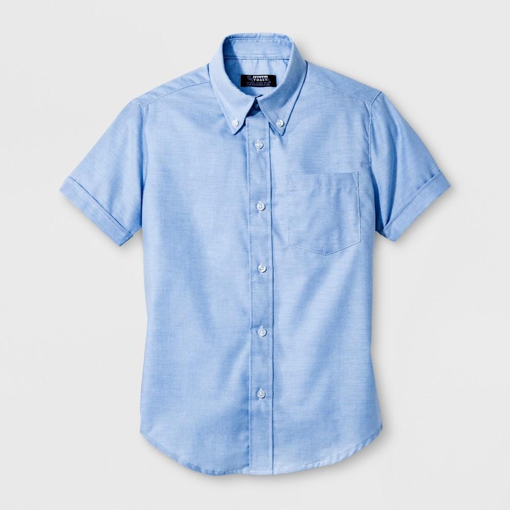 French Toast Boys Oxford Shirt - Light Blue 8
