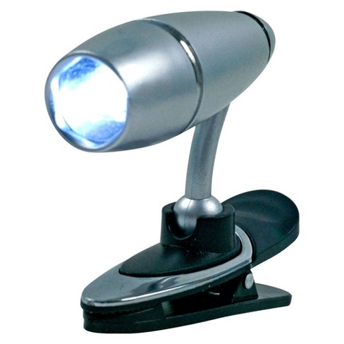 Trademark Global Brilliant LCD Clip-on Light - Silver - image 1 of 1