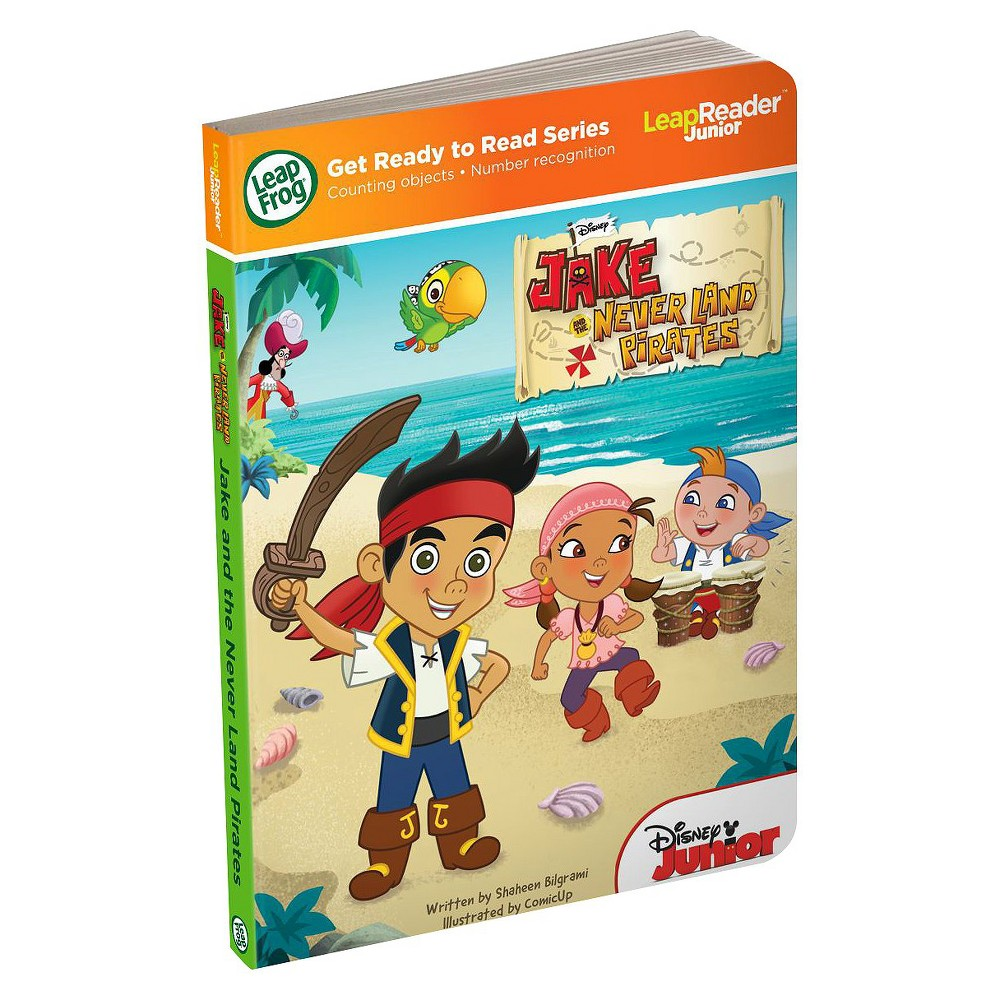LeapFrog LeapReader Junior Book: Disney's Jake and the Never Land Pirates (works with Tag