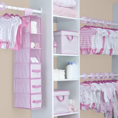 Delta Children® 48 Piece Nursery Storage Set - Pink