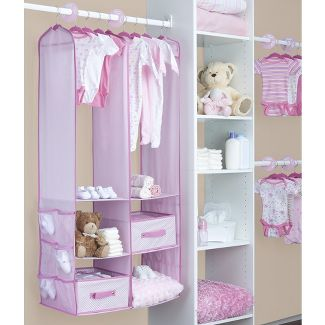 Delta Children® 24 Piece Nursery Closet Organizer - Pink