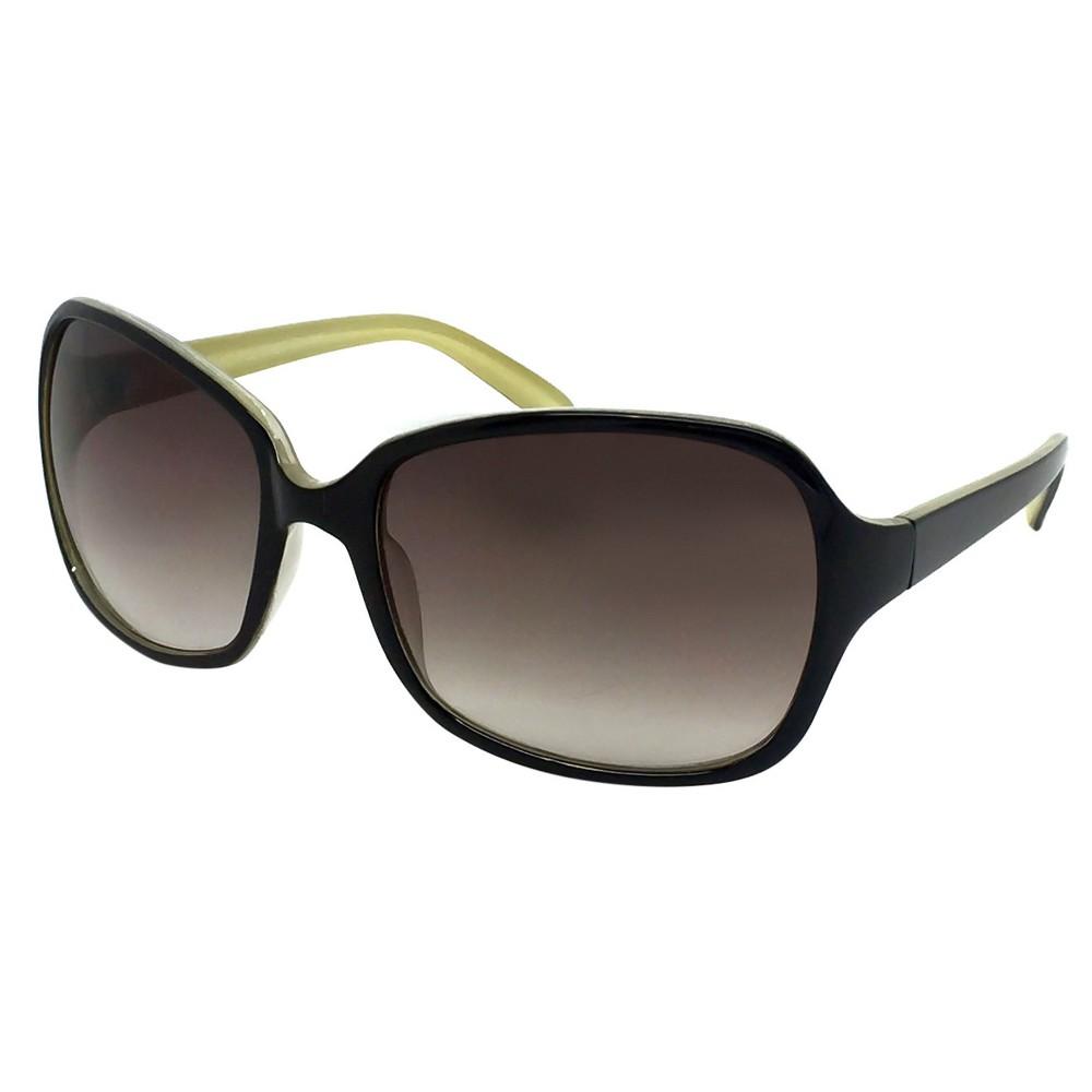 Square Sunglasses - Black, Womens