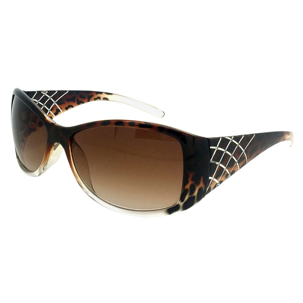 Oval Sunglasses - Brown, Womens