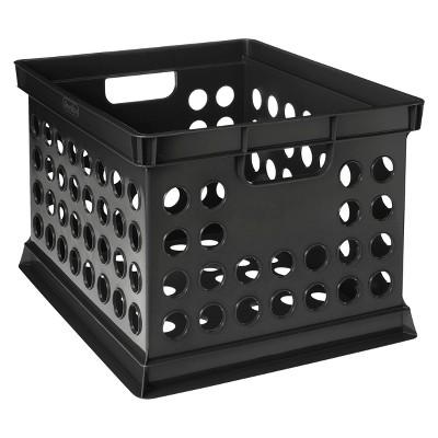 Black Storage Crate - Room Essentials™