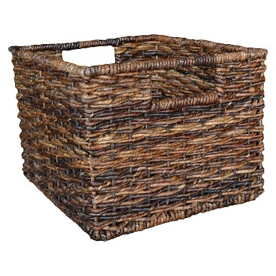 Threshold™ Global Small Milk Crate - Dark Brown