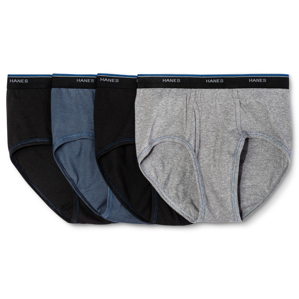 Hanes Mens 4pk Comfortblend Briefs - Small - Assorted, Red