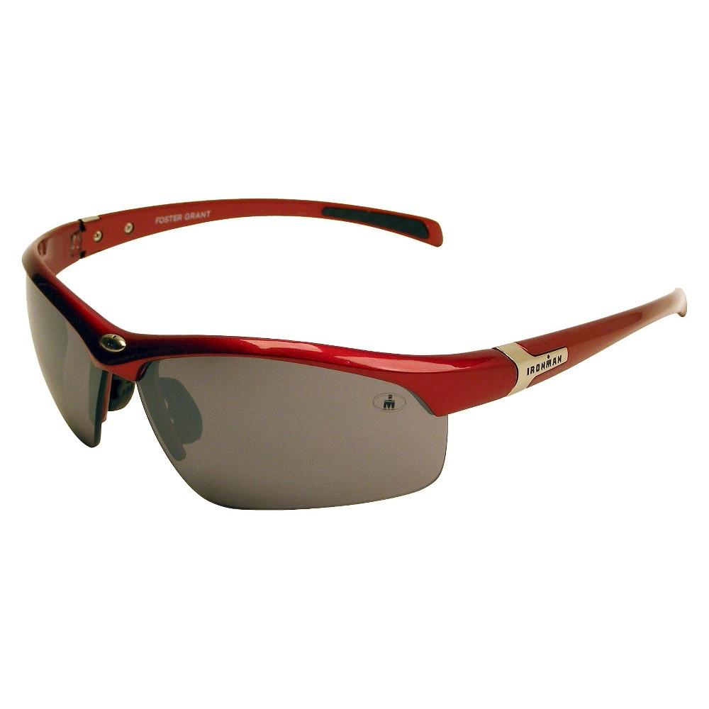 Mens Ironman Sunglasses - Red