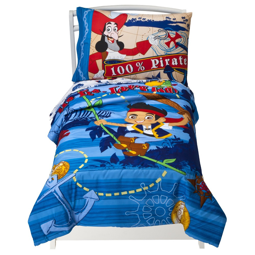 Disney Jake and the Neverland Pirates 4 Piece Bedding Set...
