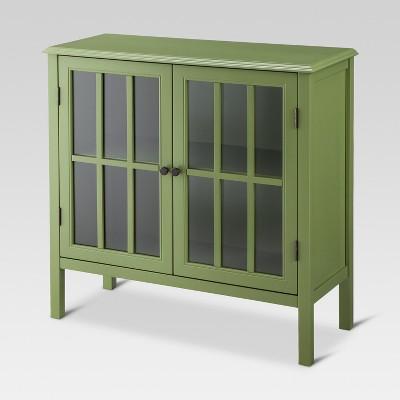 Windham 2 Door Accent Cabinet - Green - Threshold™