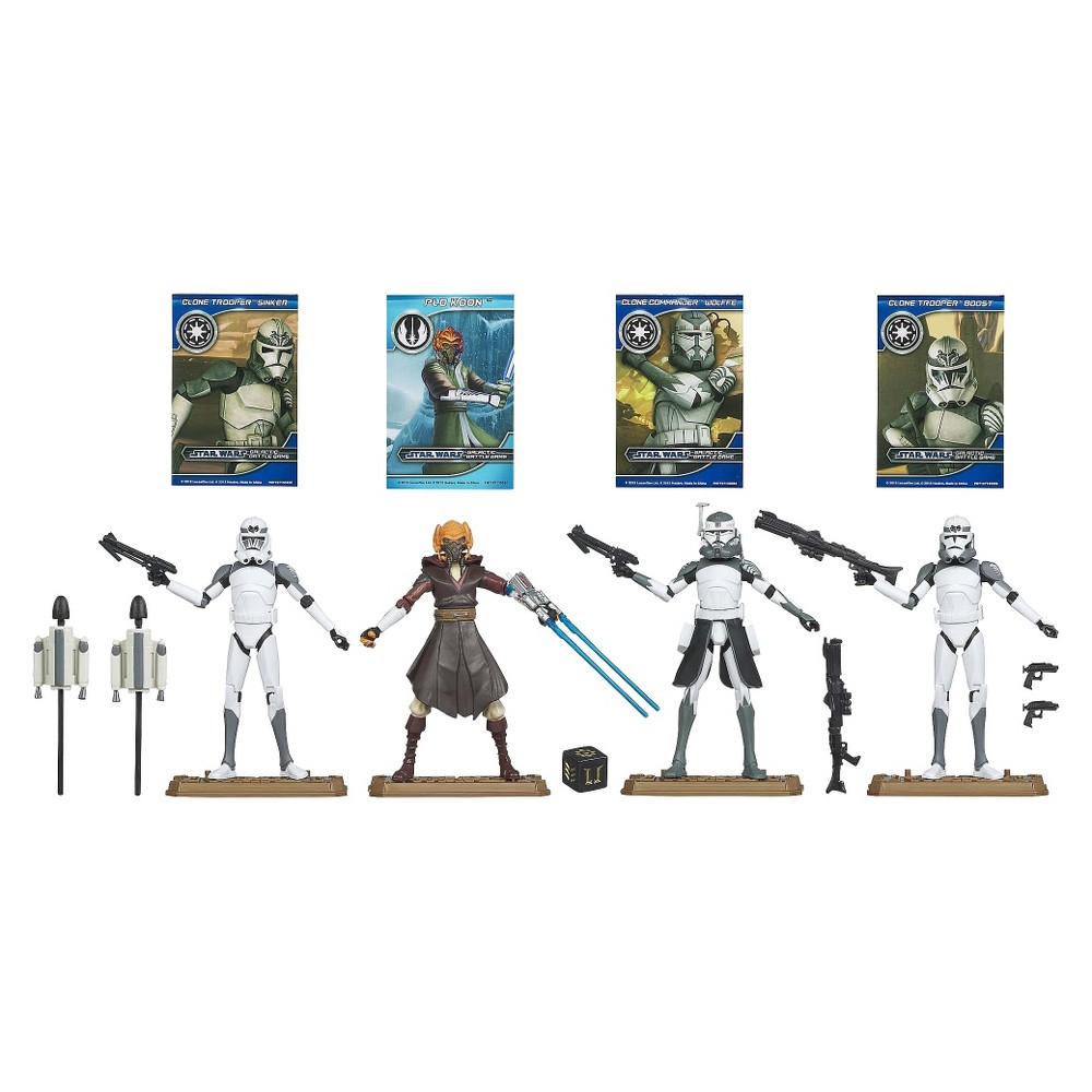 """Star Wars 104Th Battalion """"""""Wolf Pack"""""""" Clone Troopers Ultimate Gift Set"""