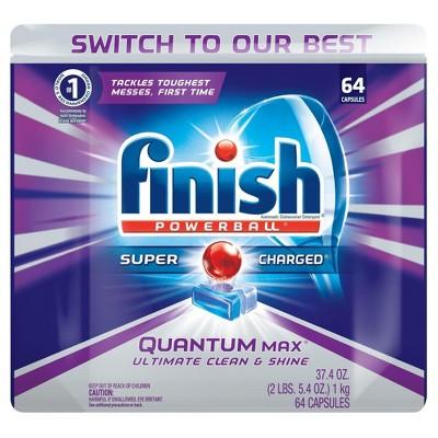 Finish Quantum Max Shine U0026 Protect Dishwasher Detergent ...