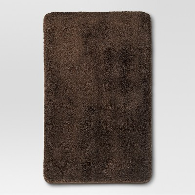 Performance Bath Rug (20 x32 )Dark Brown - Threshold™