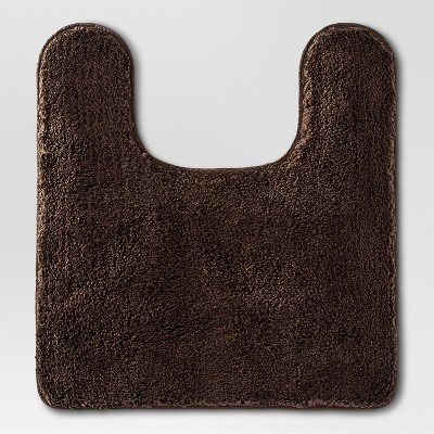 Contour Bath Rug Dark Brown - Threshold™