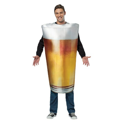 Adult Pint Glass Costume One Size Fits Most - image 1 of 1